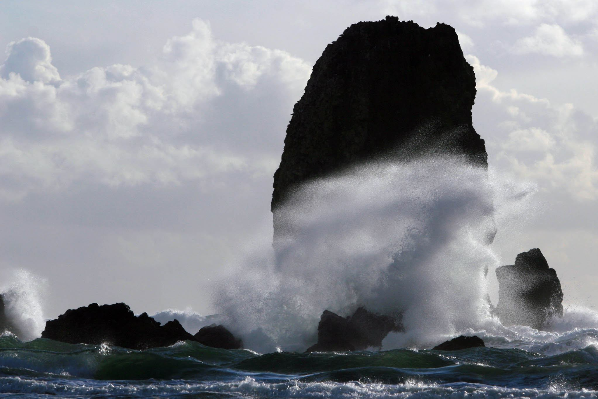 Storm Waves in Cannon Beach