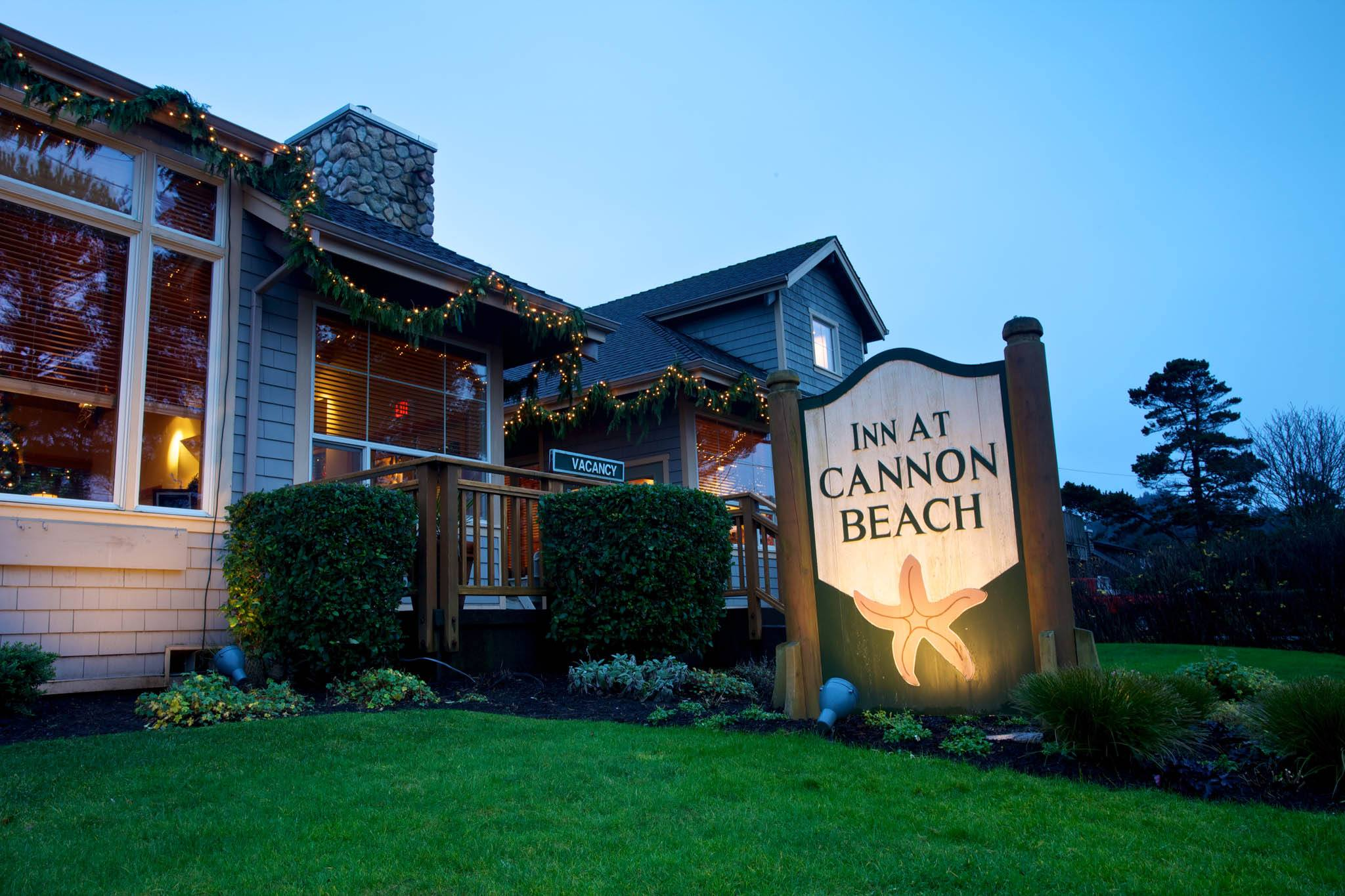 Christmas in Cannon Beach, Oregon