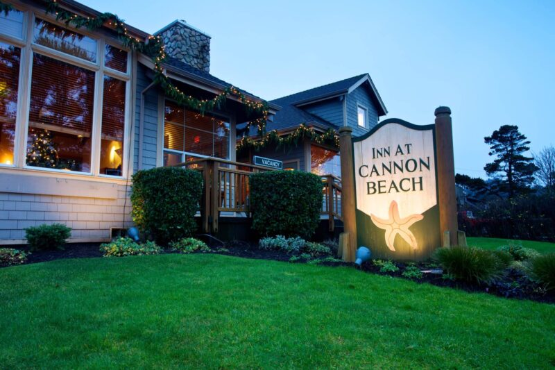 Inn at Cannon Beach for your holiday treat
