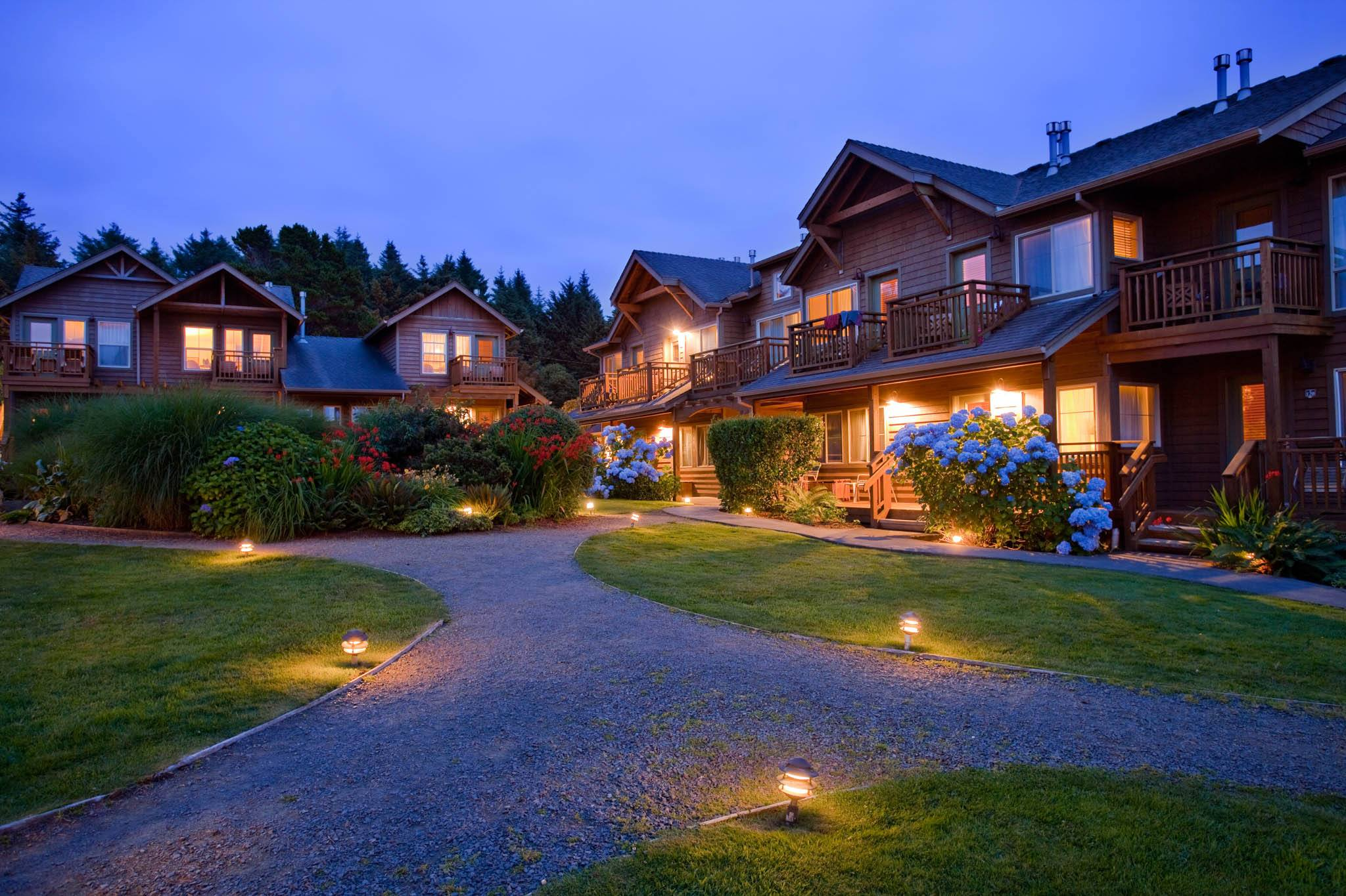 Stay the night in Cannon Beach