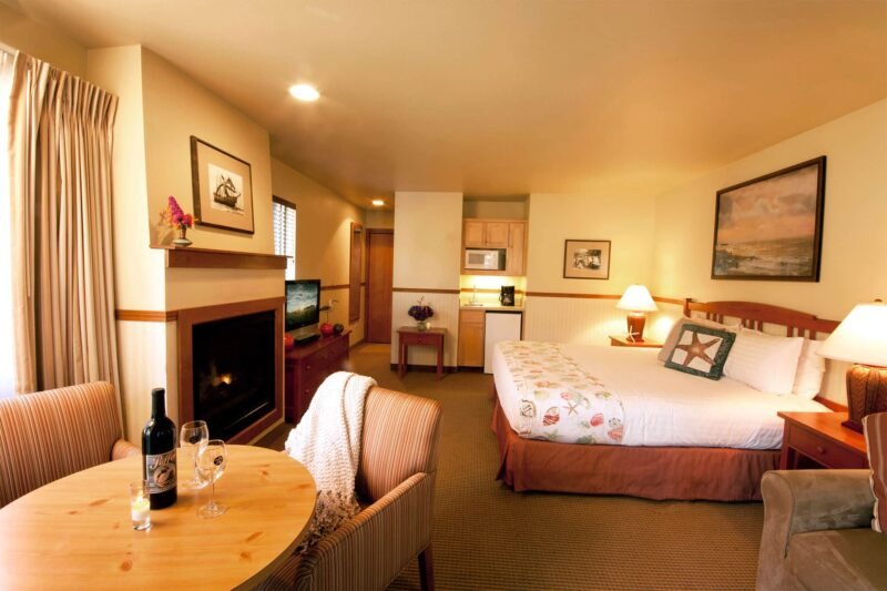 Beautiful room at the Inn at Cannon Beach