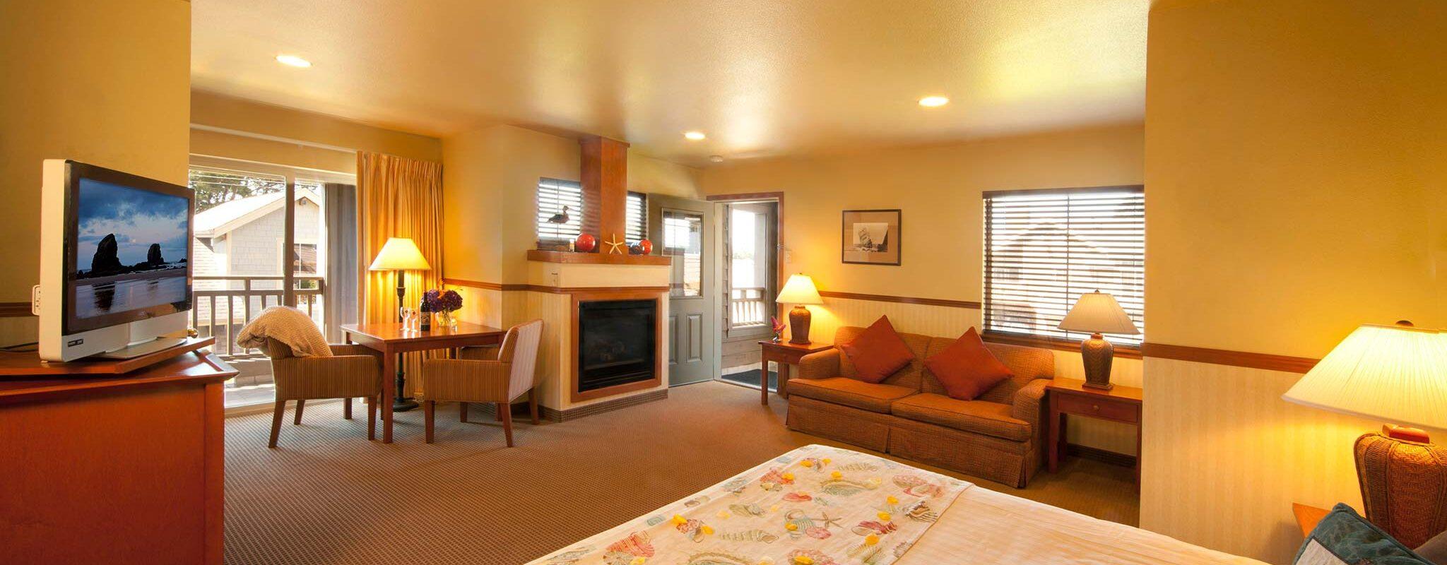 Room Features Inn At Cannon Beach